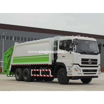 6x4 Waste Disposal Truck Compactor Garbage Transport Truck