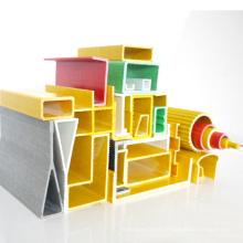 Hot Sales Window Fiberglass Structural Profiles GRP FRP Pultrusion Hollow Rod