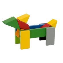 Xiaomi mitu blocos de construção de madeira Presentes para crianças