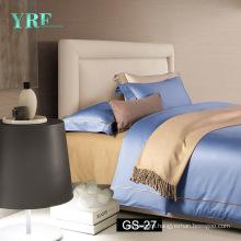 Guangzhou Foshan Blue Quilt Cover Single London Hotels Bedding