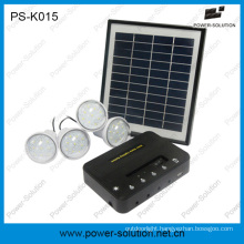 Lighting up Your Family 8W Solar Power System for Rural Areas