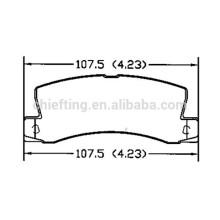 D325 04466-33110 pièces auto plaquette de frein pour Toyota Lexus