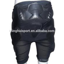 Mais novo motocicleta hip protector motocross butt perna guarda moto shell shell pp calças hip