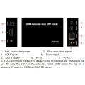 60м HDMI с ИК над cat5e/6 расширитель (данные edid, 1080р)
