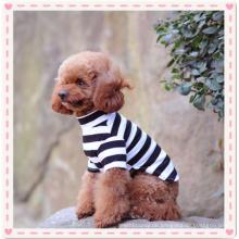 Kleines Hundehemd, Pet Puppy Jungen Kleidung Sommer Haustier Hund Katze Streifen Shirt T-Shirt Niedlich