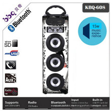 Europe market portable bluetooth speaker with memory slot