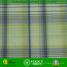 100% nylon hilado teñido de tela de cuadros para el revestimiento de la chaqueta