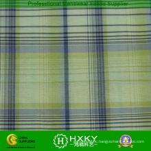 100% Nylon Yarn Dyed Plaid Fabric for Jacket Lining