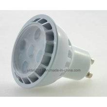 Lámpara de 30 días con luz LED Downlight Lámpara de foco con luz LED 5W GU10 de alta potencia