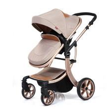 2019 heißer verkaufender Neugeborenen-Kinderwagen aus Aluminiumlegierung 3 in 1 Luxus-Kinderwagen Online kaufen