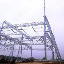 500 kV Steel Tube Power Transmission Substation Architecture