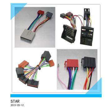 Conector del arnés de cable del adaptador ISO de la radio de coche para el arnés de cableado