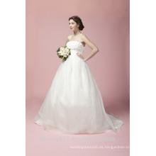 Vestido de novia de corte de la novia de tren Tulle vestido de novia A27801