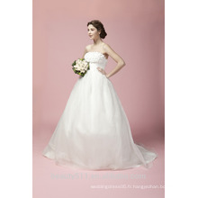 Ball Gown Sweetheart Court Train Robe de mariée en tulle A27801
