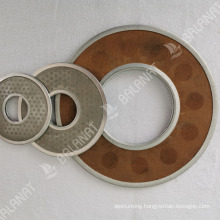 Rimmed Circular Filter Disc