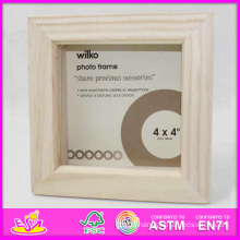 2014 Hot Sale New High Quality (W09A025) En71 Light Classic Fashion Picture Photo Frames, Photo Picture Art Frame, Wooden Gift Home Decortion Frame
