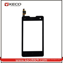 """4.0"""" Mobile Phone Touch Screen Digitizer Glass Panel Replacement Parts For Lenovo A396 Black"""