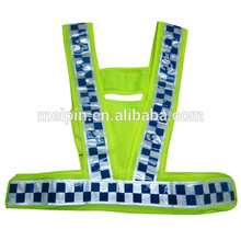 PVC Sewing Reflective Checked Tape for Safety Clothing/Pants/Shoes/Cap