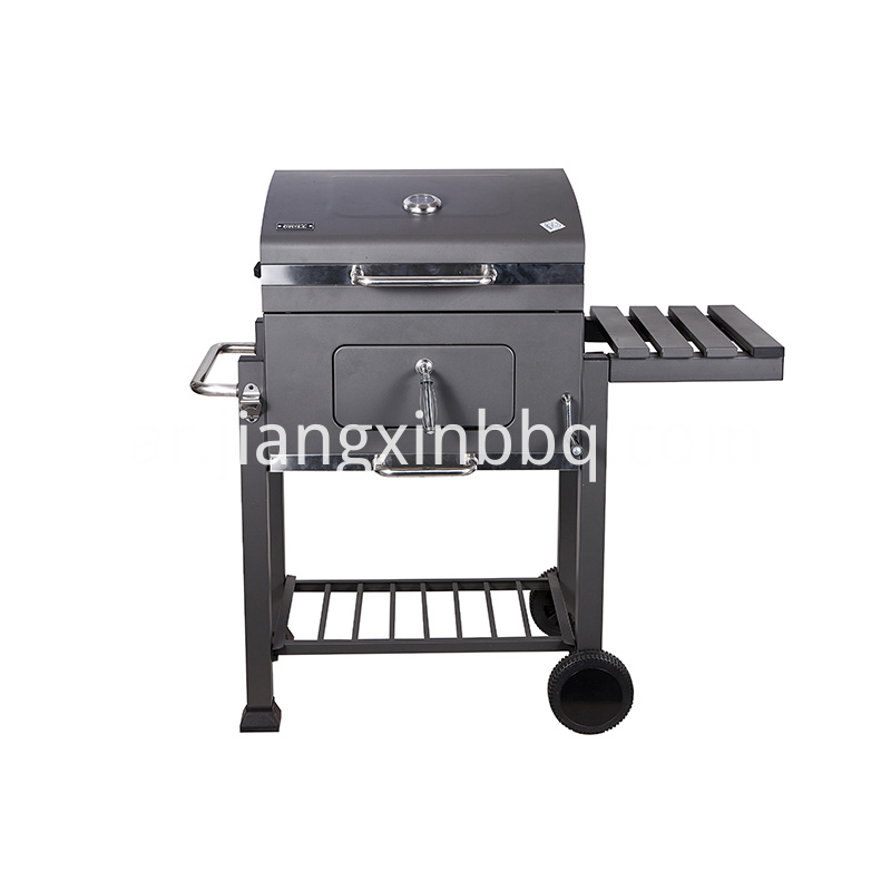 61 Cm Outdoor Barbecue Grill And Smoker