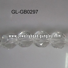 Twist glass beads