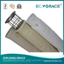 Hocheffiziente Filtration PTFE Membran Asche Filterbeutel