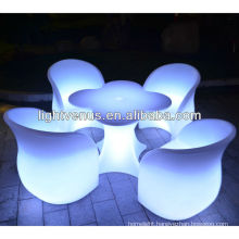 Automatic color change LED Table&Chair