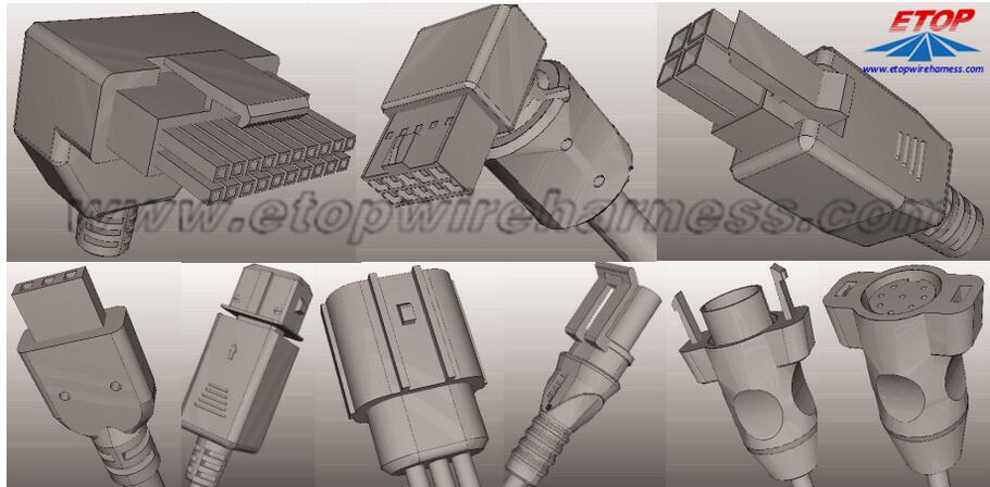Molded connectors2