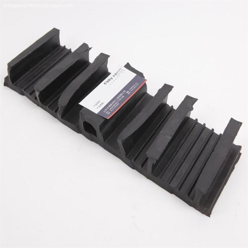 Rubber back waterproof belt