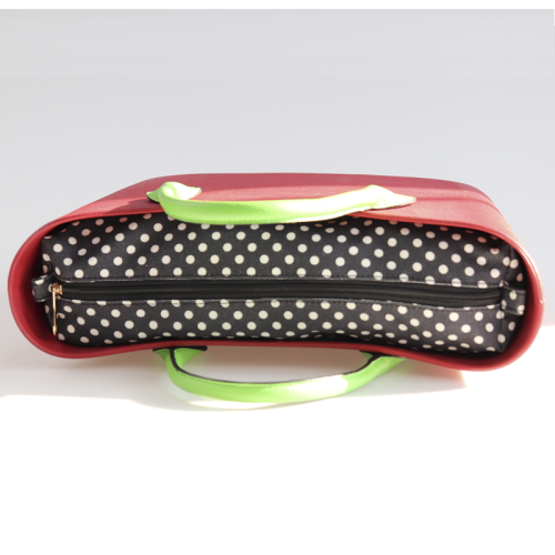 Obag Dots Canvas Inner Bags PU personalizado