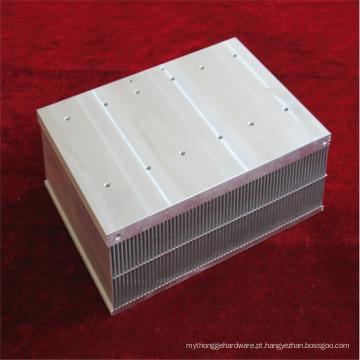 Fundição personalizada em alumínio e dissipador de calor