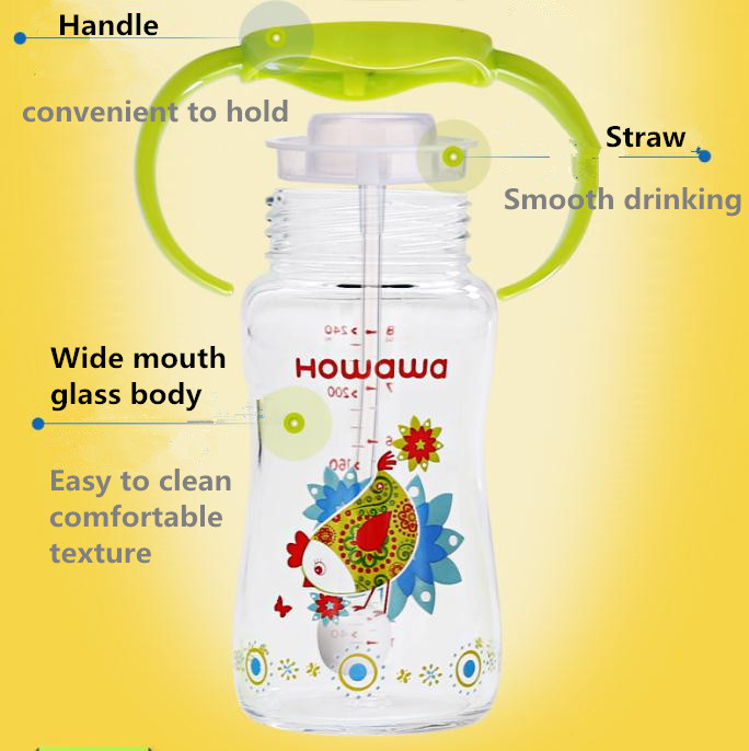 Glass Feeding Bottle