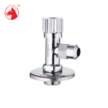 Quality durable plated zinc alloy handle polishing and chrome brass angle valve