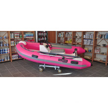 top racing boats RIB330 rigid hull inflatable boat with console