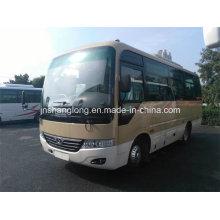 China 6,6 m Euro 3 Rhd Bus com 20-26 assentos (tipo Coaster)