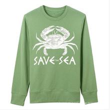 Bequemes beiläufiges Druck-Sweatshirt der Männer
