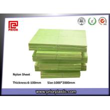 Nylon vert feuille pour pièce d'Automobile