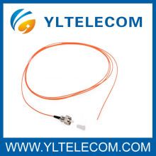 FC E2000/MU Multimode Fiber Optic Pigtails gelb PVC LSZH Kabel