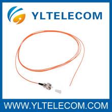 FC/MU E2000 multimodo fibra óptica coletas amarillo PVC LSZH Cable