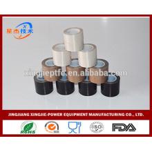 Impermeable marrón ptfe cinta adhesiva cinta de fibra de vidrio
