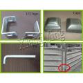 1.8X2.1m corrals de bétail portatifs Corral panneaux panneaux de bétail portatifs