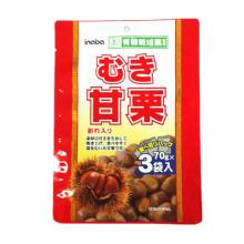 Plastic 3 Sides Seal Chestnuts Packaging Bag