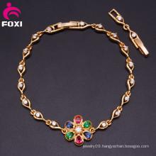 Big Center Flower Bracelet Vnezuela Jewelry