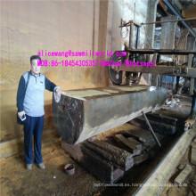 Sierra eléctrica horizontal de la sierra de cinta de la sierra de madera para el corte de madera dura