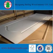 Natural Wood Veneer Moulded HDF Door Skin