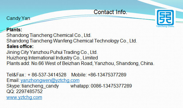 Tiancheng chemical contact info