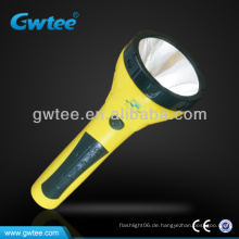 GT-8156 1.5W LED nachladbare Kurbel-Taschenlampen-Aufladeeinheit