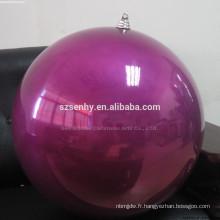 Décoration intérieure Grande boule de Noël en plastique