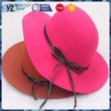 Hauptprodukt alle Arten von Faux Wildleder Frauen Hut farbic in vielen Stil
