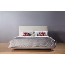 Современный отель ткань кровать, мебель для спальни (A07)