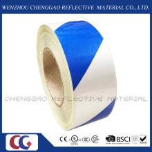 Blaue und weiße klebfreie reflektierende Aufkleber für Werbung (C1300-S)
